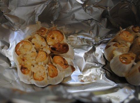 Garliccooked