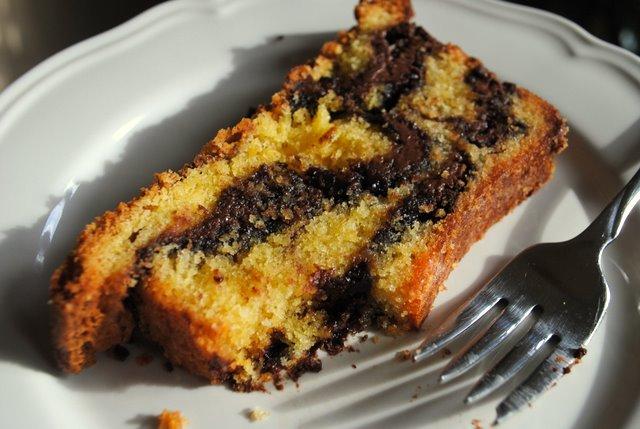 Nutella-pound-cake-plated
