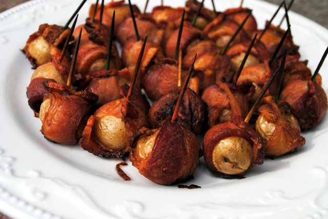 Bacon-Wrapped Potatoes Recipe — Dishmaps