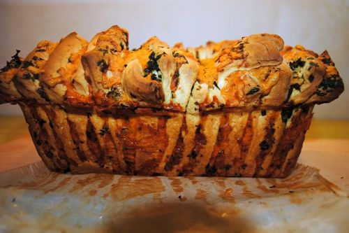 Galic-loaf-baked-side