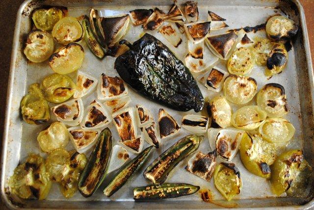 Salsa-roasted
